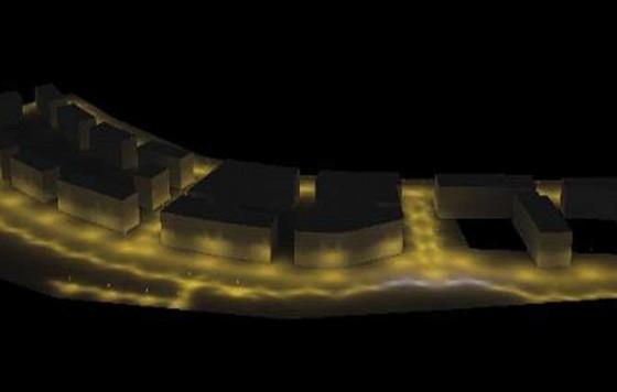 Estudio eficiencia energética del alumbrado en Muliate (Hondarribia)